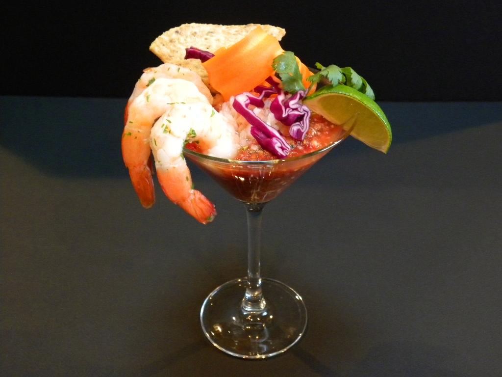 Tequila Lime Shrimp Cocktail